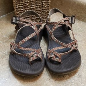 Chaco ZX-2 Womens Strappy Sport Sandals Size 10
